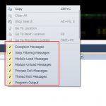 【Visual Studio 2010】Debug.WriteLine実行時に余計なデバッグ情報の出力を制御する方法