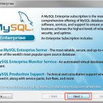 MySQL mysql-5.5.39-winx64.msi をインストールする