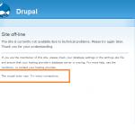 MySQLを使ったサービス(WordPress/Drupal)にアクセスできなくなった場合