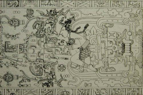 パカル王石棺の蓋