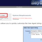 IE(インターネットエクスプローラー)のUA(ユーザーエージェント)をアドオンで変更する方法