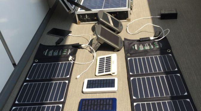 真夏におすすめのソーラーパネルコレクション!【節電】