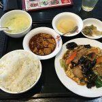 【中華料理 桂園(けいえん)】豚肉木耳卵炒め(ぶたにくきくらげたまごいため)を食べてみた
