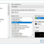 【Visual Studio 2010】C#ソースコード内のコメントの色を変更するには?