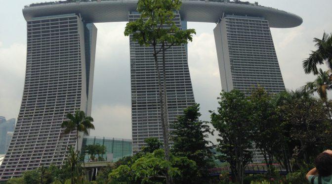 シンガポールの人気ホテル マリーナベイサンズ(Marina Bay Sands)をざっくり解説
