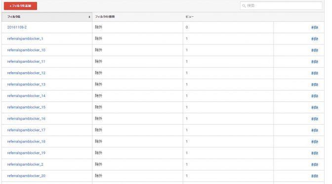 Google Analyticsに現れるリファラスパムを除外する方法