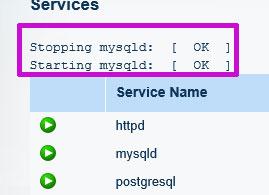 Lunarpages Dedicated Server(専用サーバー)でMySQLの再起動を手っ取り早く行う方法