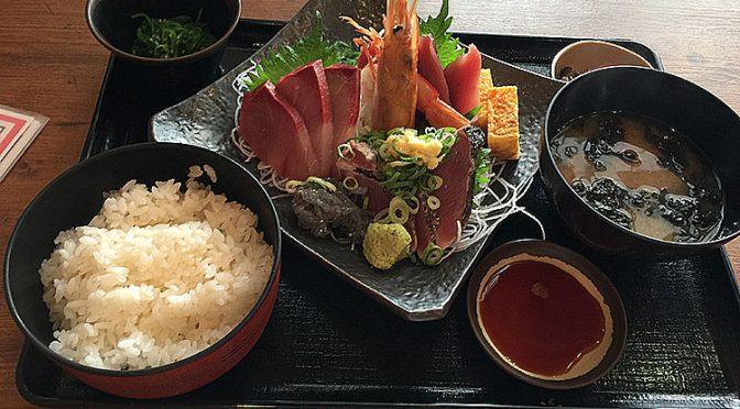 【築地食堂 源ちゃん】本日のお刺身定食を食べてみた!!